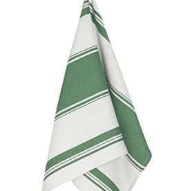 Symmetry Dishtowel Green Striped