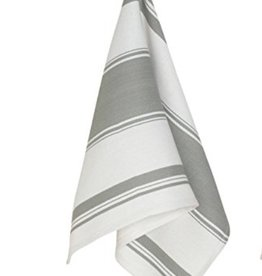 Symmetry Dishtowel Grey Striped