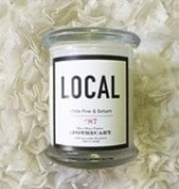 Local Candle White Palm & Balsam / 270 g/ 50 hours