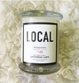 Local Candle Woodsmoke / 270 g / 50 hours