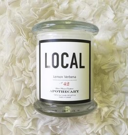 Local  Candle Lemon Verbena