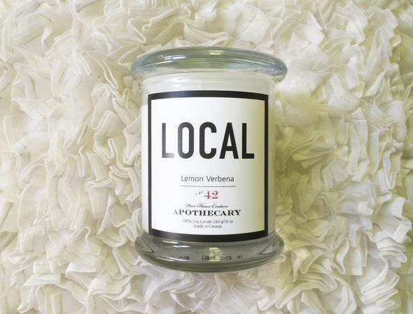 Local  Candle Lemon Verbena / 270 g/ 50 hours