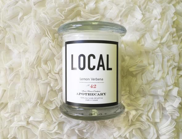 Local  Candle Lemon Verbena