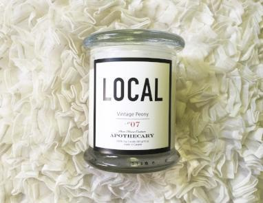 Local Candle Vintage Peony