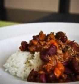 Turkey Chili Dinner (Serves2)