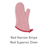 Oven Mitt Red Stripe