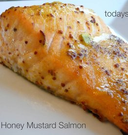 Honey Mustard Salmon Dinner (Serves 2)