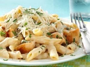 Chicken Alfredo With Penne Pasta (4)