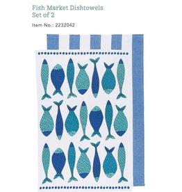 Fish Dishtowels (set 2)