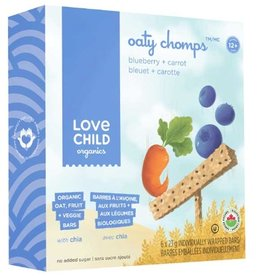 Love Child Oaty Chomps Blueberry (6 Bars)