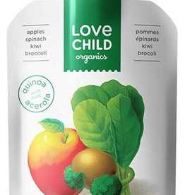 Love Child Organic Puree Apple Spinach (128 ml)