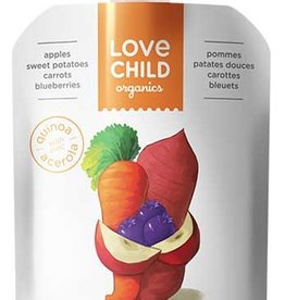 Love Child Organic Puree Apple Sweet Potato (128ml)