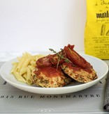 Smothered Chicken Dinner (Serves 2)