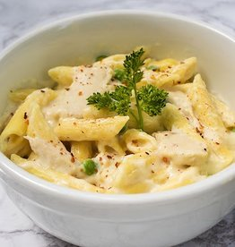 Chicken Alfredo With Penne Pasta (4)