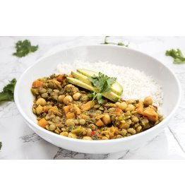 Lentil Curry Vegetarian Dinner (Serves 1)