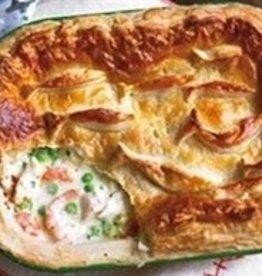 Fish Pot Pie Dinner (Serves 2)