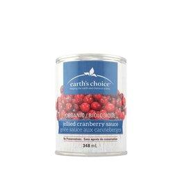 Earth's Choice Organic Jellied Cranberry Sauce (348ml)