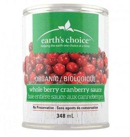 Earth's Choice Organic Whole Cranberry Sauce (348 ml)