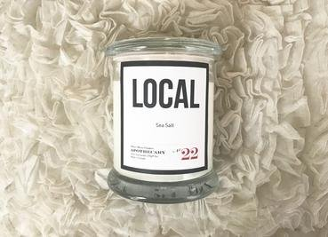Local Candle Sea Salt /270 g/ 50 hours