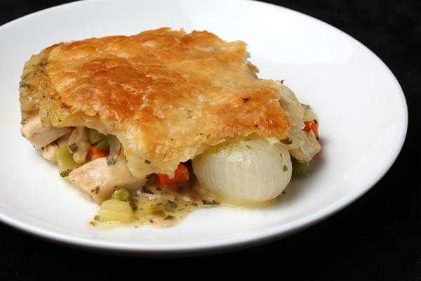 Chicken Pot Pie DInner Special (Serves 4)
