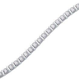 Tennis Bracelet (0.50cttw) White Gold