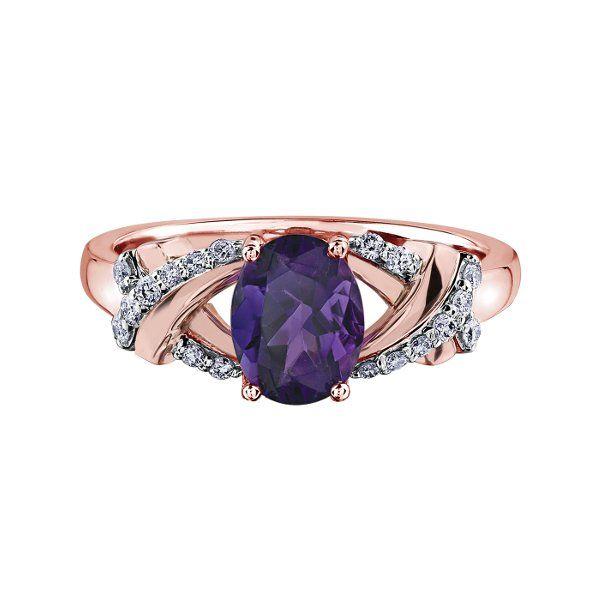 Amethyst & Diamond