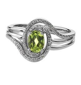 Peridot & Diamond (August)