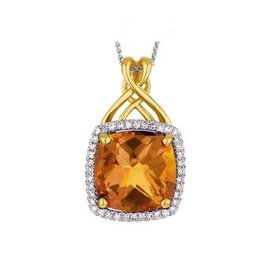 Citrine and Diamonds
