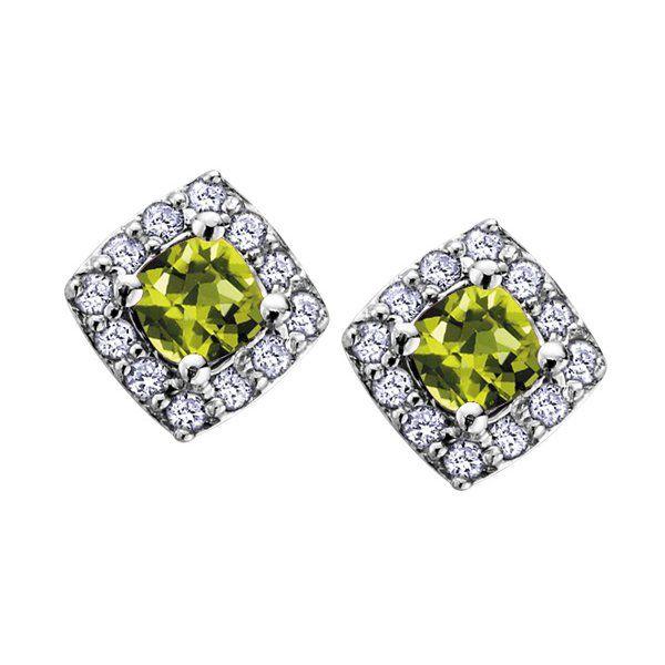 Peridot & Diamonds