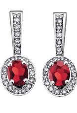 Garnet & Diamonds