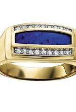 Blue Lapis & Diamond