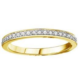 Yellow Gold (0.10cttw) Diamond Band