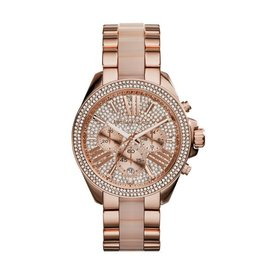 Michael Kors Wren Pave Rose Gold