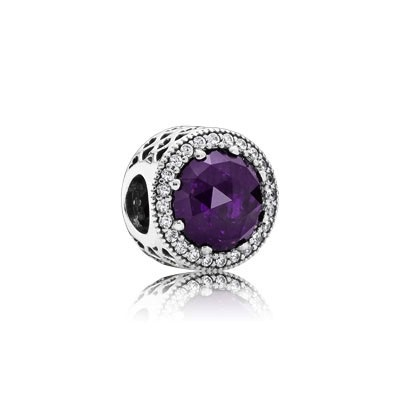Pandora Radiant Hearts Royal Purple