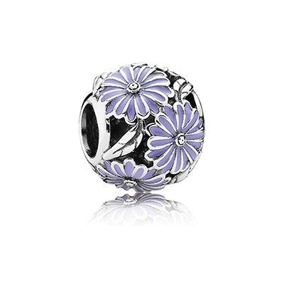 Pandora Daisy Meadow Lavender