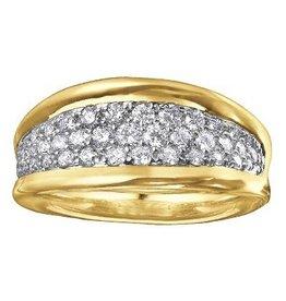 B026-Pavee Ring (0.75ct)