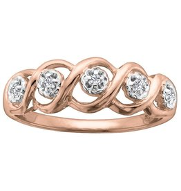Rose Gold (0.05ct)