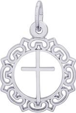 Ornate Border Cross