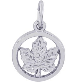 Maple Leaf (Circle)
