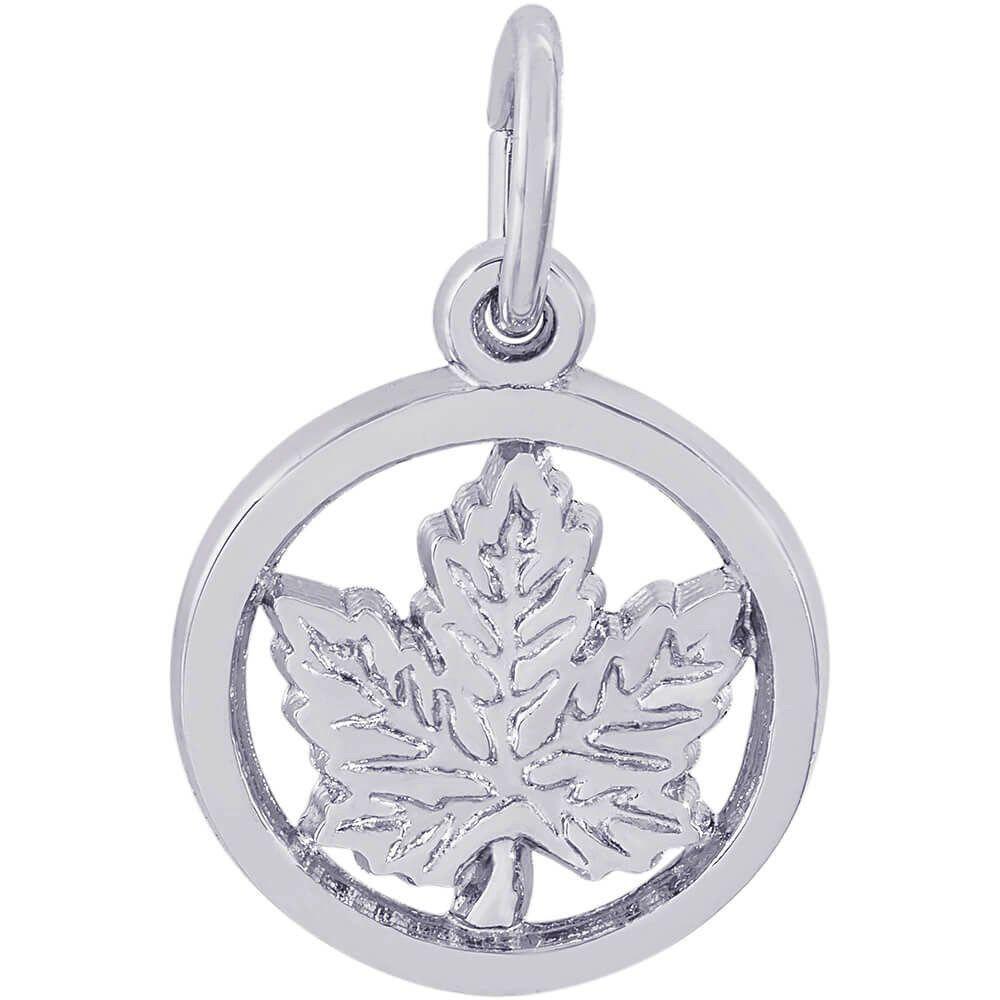 Maple Leaf (Circle)
