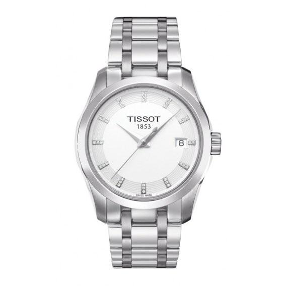 Tissot Couturier with Diamond