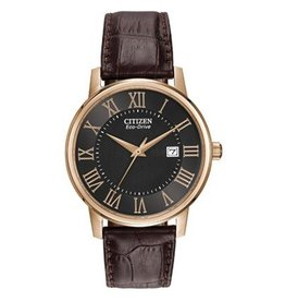 Men's Strap Eco Drive with Date