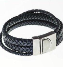Steelx Black Leather