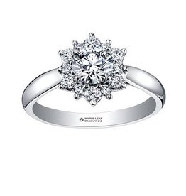 Maple Leaf Diamonds Tides of Love (0.60ct) -14k Canadian