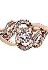 Morganite & Diamonds