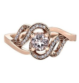 Morganite & Diamonds