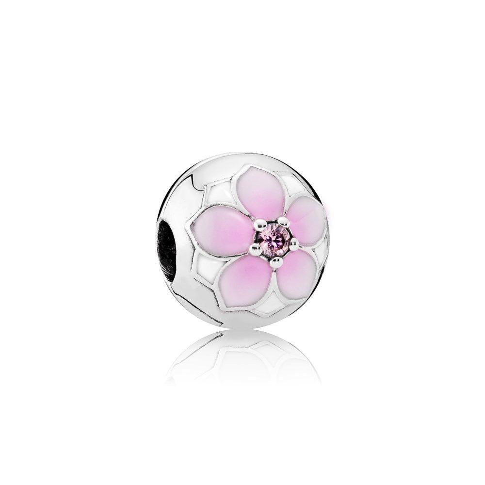 Pandora Magnolia Bloom Clip