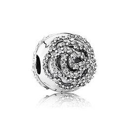Pandora 791529CZ - Rose Clip