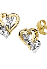 Two Tone Hearts