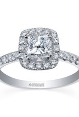 Maple Leaf Diamonds Halo Cushion-ML216 (0.75ct) Canadian